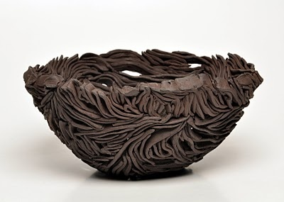 Ceramic-- almost looks like feathers