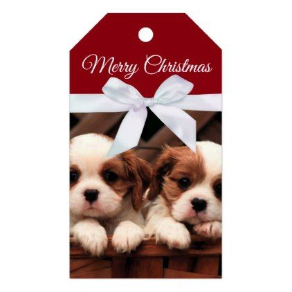 Gorgeous Puppies Christmas Gift Tags in 2018 christmas craft