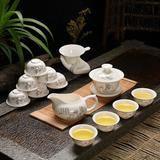 New Coming Ceramic Bone China Kungfu Tea Set Suit  Tea Cups Ceramic 13PCS Tea Set  #茶具#茶壶#Jogo de chá#Thé#?????#чайный сервиз#Juego de té#Thee#Tee#Die teekanne#Théière#Théière#teaset