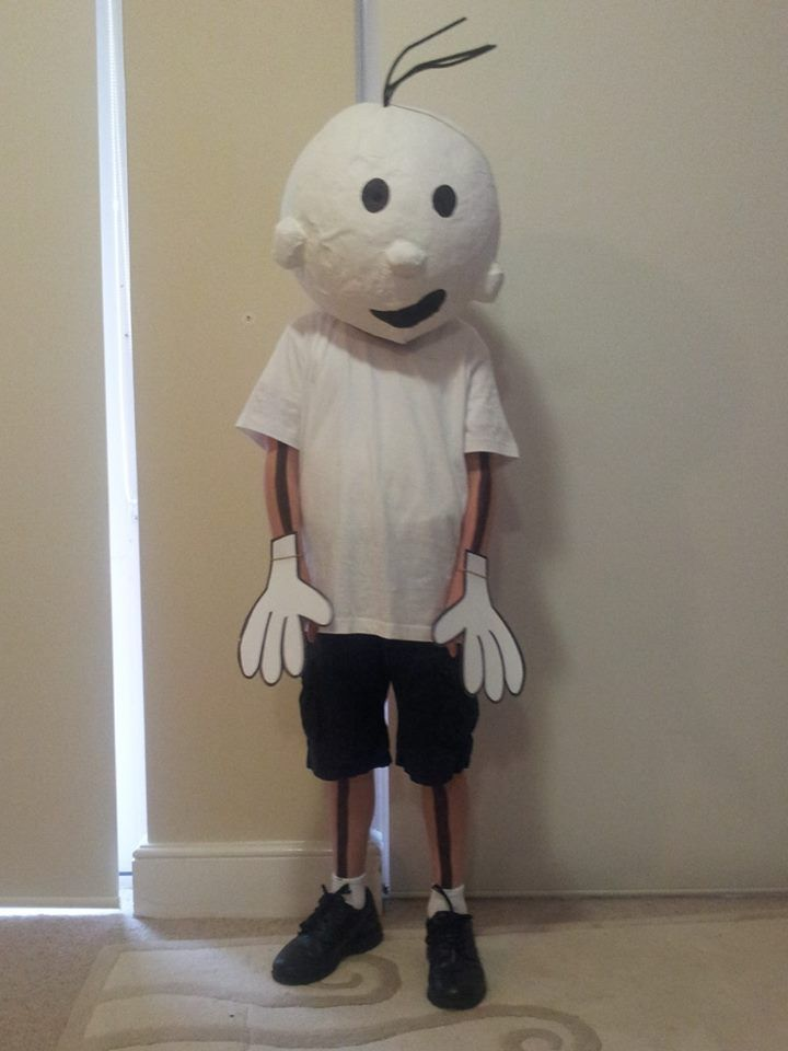 Make Your Own Diary Of A Wimpy Kid Costume