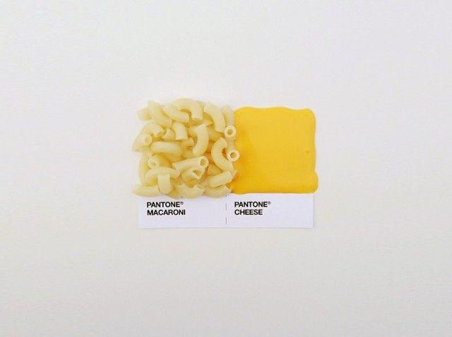 Pantone Food – by David Schwen