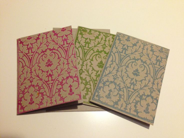 Handmade cards embossed with bright ink colours. Made by Dina Lambrianidis, from Maison de Cartes.