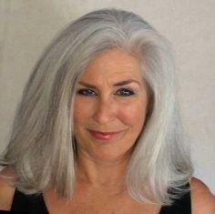 Beautiful Long Gray Hair | long gray hair more beautiful silver grey hair ageless beautiful 50 ..