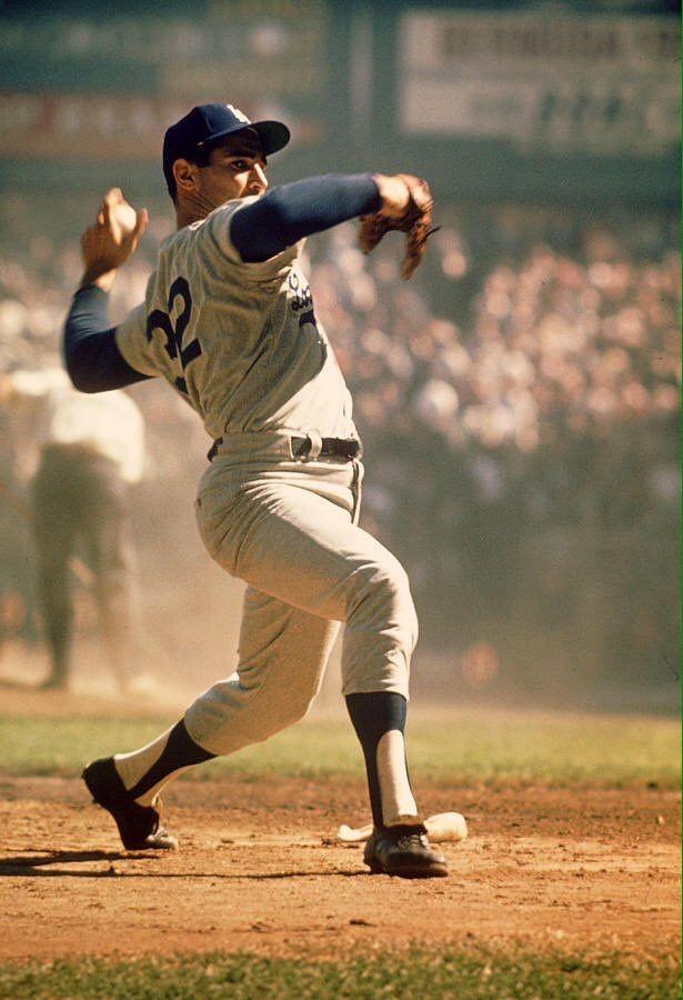 Sandy Koufax  LHP  Dodgers