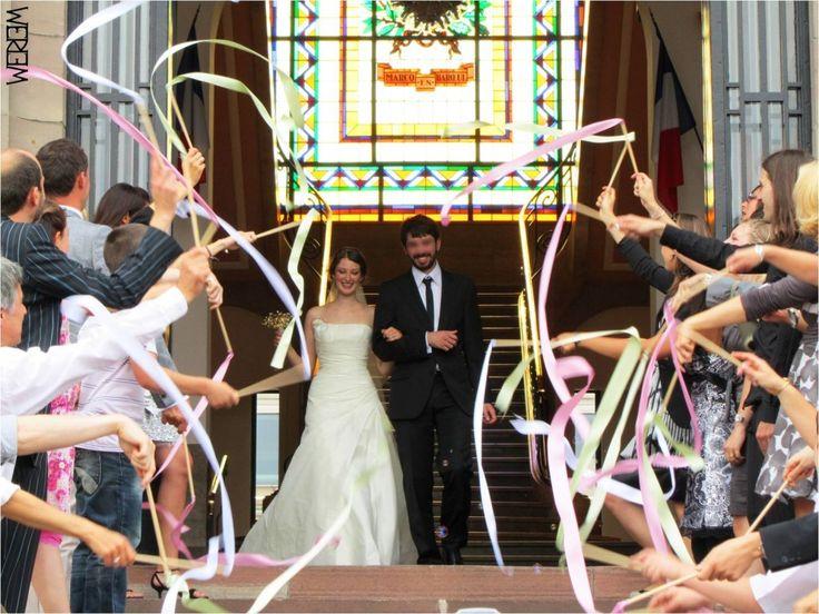 ribbon sticks rubans mariage wedding