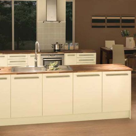 17 best images about cream gloss kitchens on pinterest for Kitchen ideas homebase