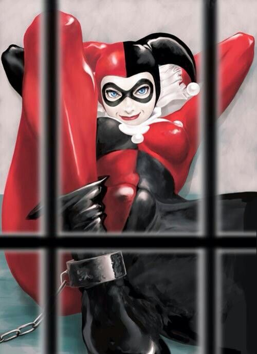 Harley Quinn // I like this drawing, despite find it a rather vulgar