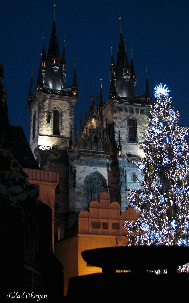 Prague, just after Christmas. @Portfoliobox