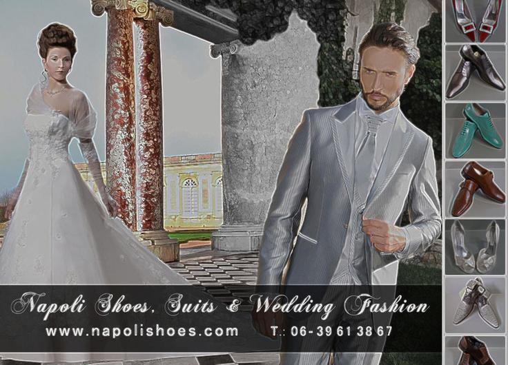 Bruidegom Napoli - Ambachtelijk Bruidegom mode in Italiaanse Stijl