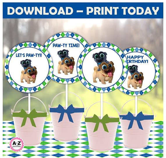 Puppy Dog Pals Centerpieces Download File Puppy Pals Party