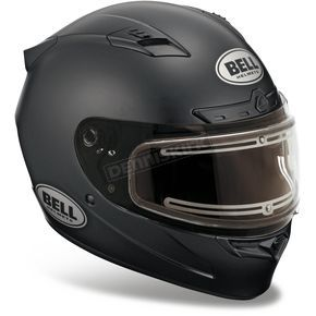 Bell Helmets Matte Black Vortex Snow Helmet with Electric Shield - 2035549  Snowmobile