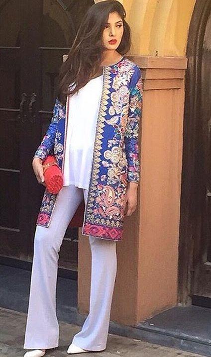 84 best Desi Clothes images on Pinterest | Pakistanische ...