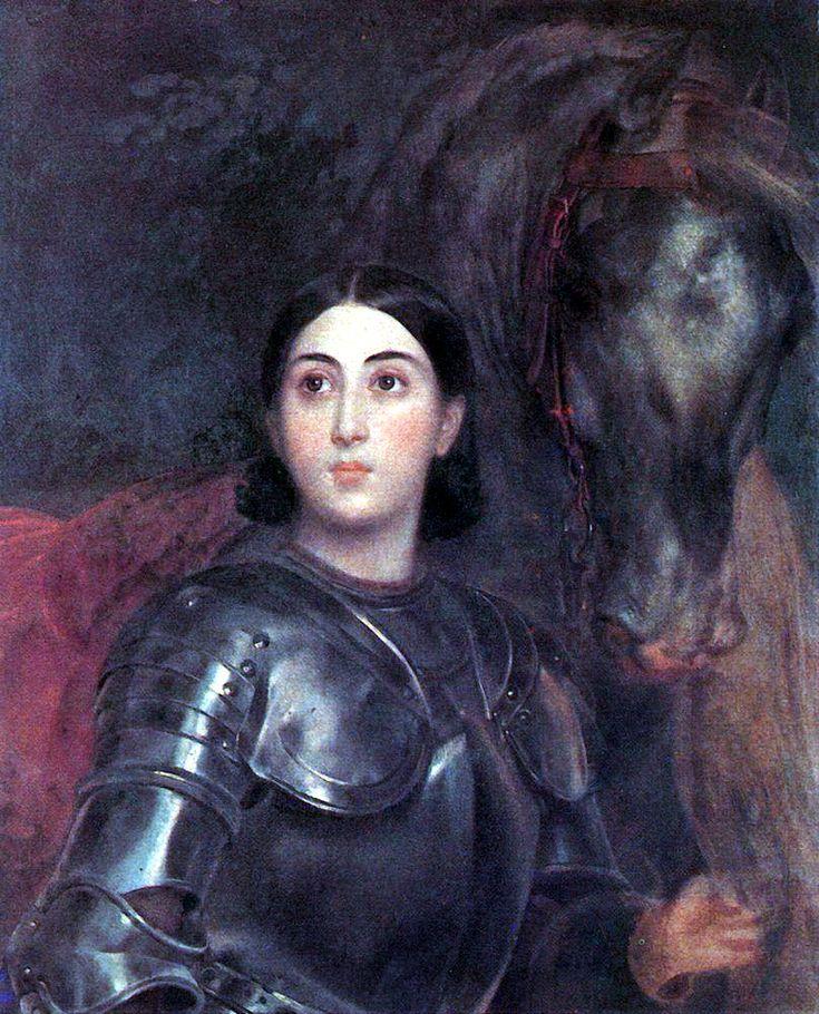 Портрет Джульетты Титтони в латах. 1851-1852. Собрание Титтони, Рим.