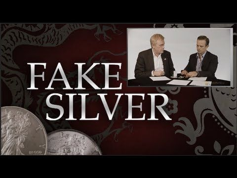 How To Avoid Fake Silver - Mike Maloney & James Anderson  Chinese Con Artists Fake | Counterfeit Gold and Silver Eagles?