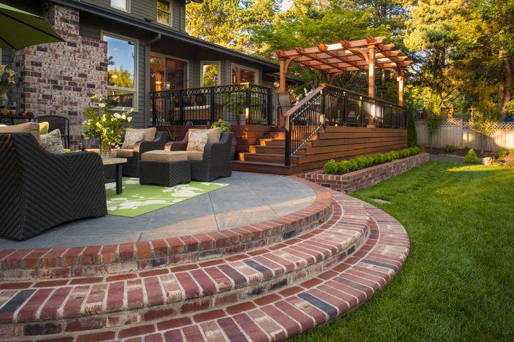 Backyard Pergola Paradise Restored Landscaping In 2021 Backyard Pergola Backyard Backyard Design