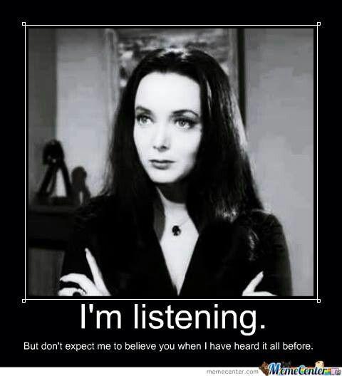 Morticia.....Addams Family.