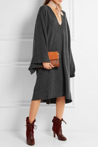 Chloé | Oversized cashmere dress | NET-A-PORTER.COM