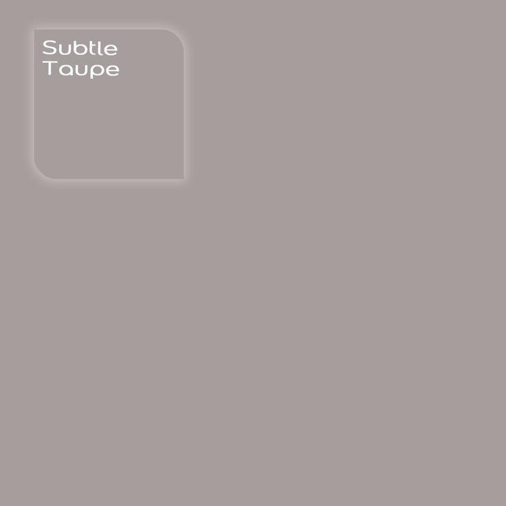 Pure by Flexa Colour Lab® kleur: Subtle Taupe. Verkrijgbaar in verfspeciaalzaken.