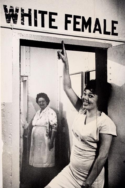 Deplorable segregation;  Leonard Freed; Women's Prison, New Orleans, Louisiana;1965
