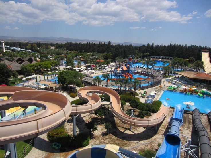 LIMASOL FASOURI WATERPARK - CYPRUS ..........the biggest water park in Europe, Water World Water Park, operates from April until October and resumes operation from May until September for one of the best Cyprus holiday experience.