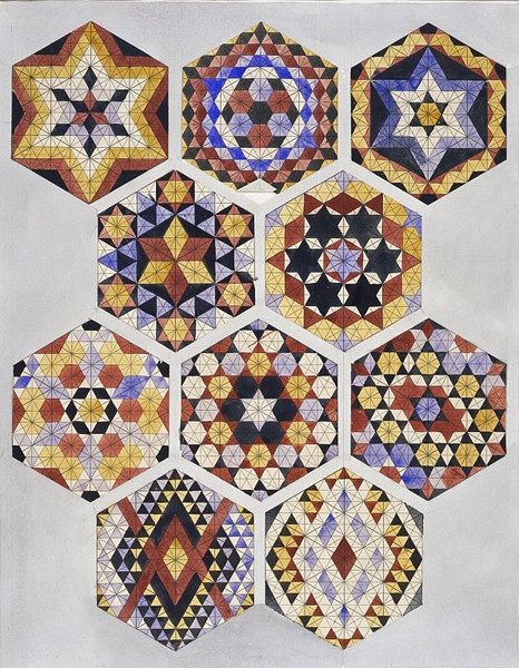 Designs for tiles in Islamic style | Jones, Owen | V Search the Collections