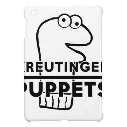 Kreutinger Puppets - Logo iPad Mini Covers - logo gifts art unique customize personalize