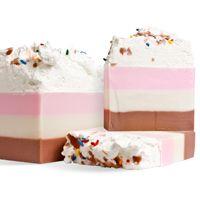 RECIPE: Neapolitan Ice Cream Loaf Soap - Wholesale Supplies Plus