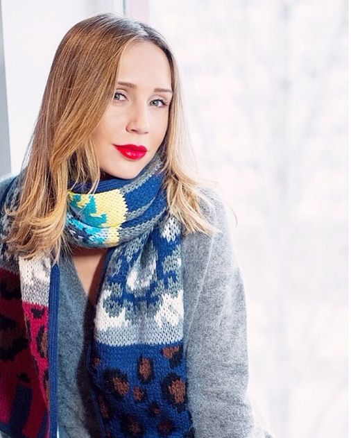 Tak.Ori Made in Italy patchwork scarf - collection FW14