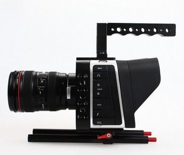 (198.29$)  Watch now - http://aizum.worlditems.win/all/product.php?id=32386563151 - Sunrise Black magic camera BMCC Cage BMCC Rig