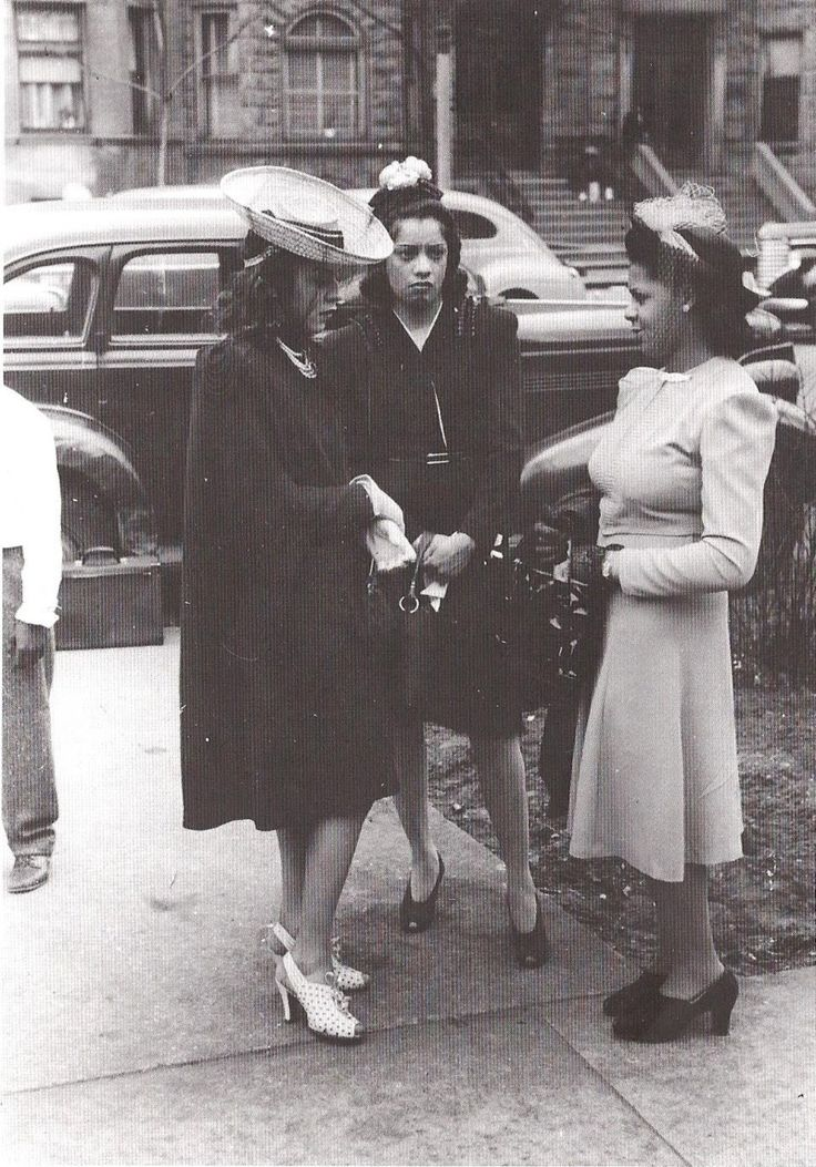 Some Extra Fabulous African American Women Dressed To The Nines And Chatting Omg