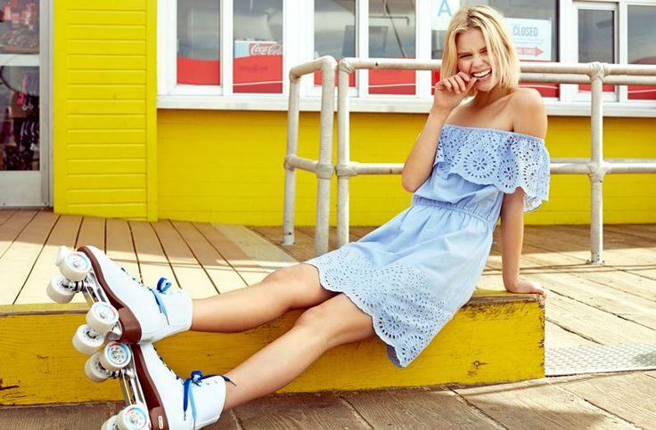 Dress #dress #blue #fun #fashion #bikbok #cute