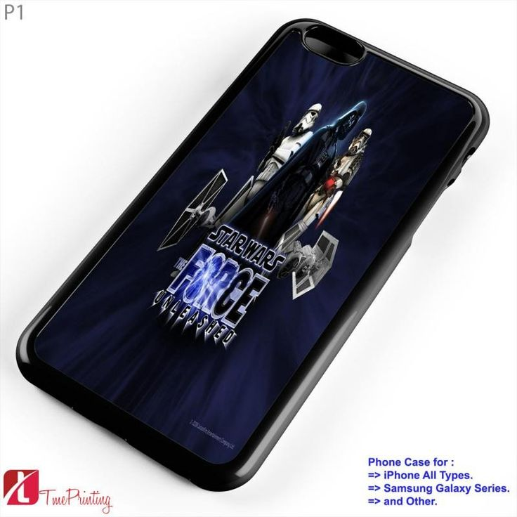 Star Wars The Force Unleashed 2 - Personalized iPhone 7 Case, iPhone 6/6S Plus, 5 5S SE, 7S Plus, Samsung Galaxy S5 S6 S7 S8 Case, and Other