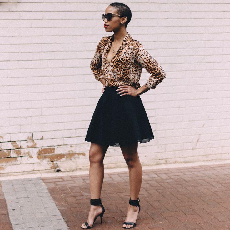 Shirt - ZARA, Skirt - H&M, Sandals - Mango, Sunglasses - ZARA #zara, #hm #mango