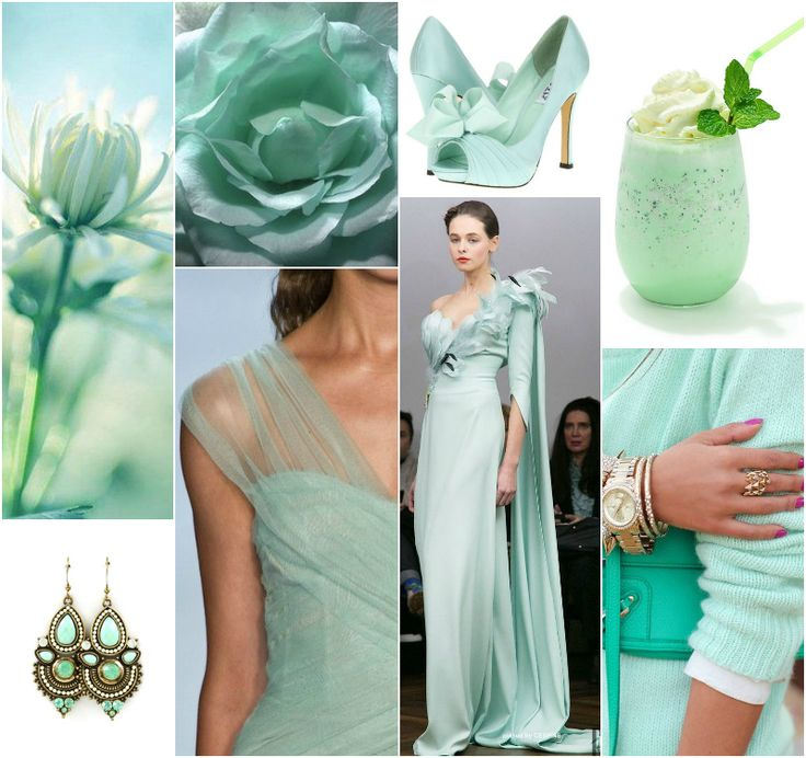 mint for delicate summer
