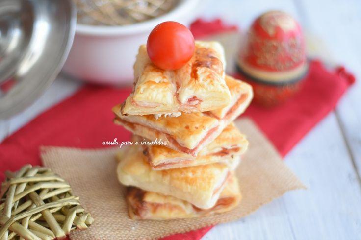 Antipasti+Natale+Alberelli+al+prosciutto+Tridimensionali