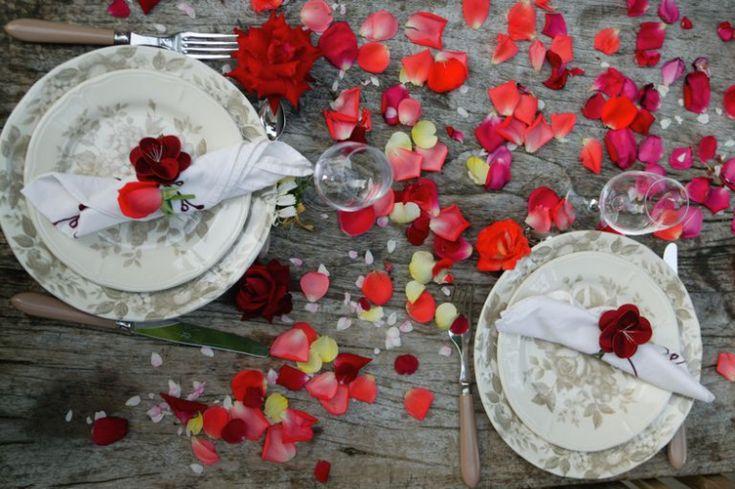 festliche tischdeko silvester romantisch zu zweit #festive #newyearseve