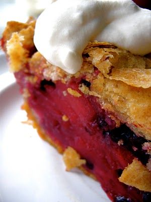 Apple-Huckleberry Pie, with Sourdough Pate Brisee, from The Bojon ...