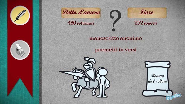 Italiano - Le opere in volgare di Dante Alighieri - Repetita