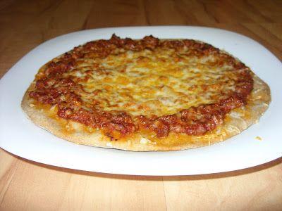 Csiperke blogja: Pizza bolognese avagy Bolognai pizza