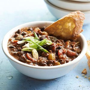 Black Bean Chili Bean Chili And Black Beans On Pinterest