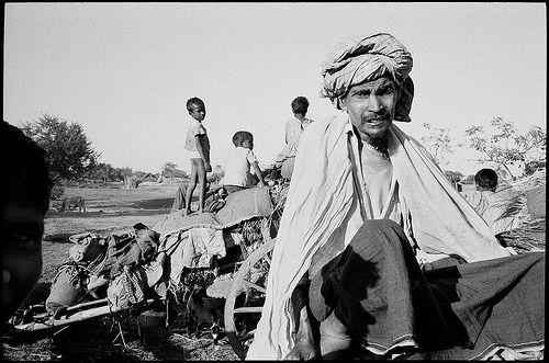 Bengali refugees near Thakurgaon, East Pakistan, 1971.