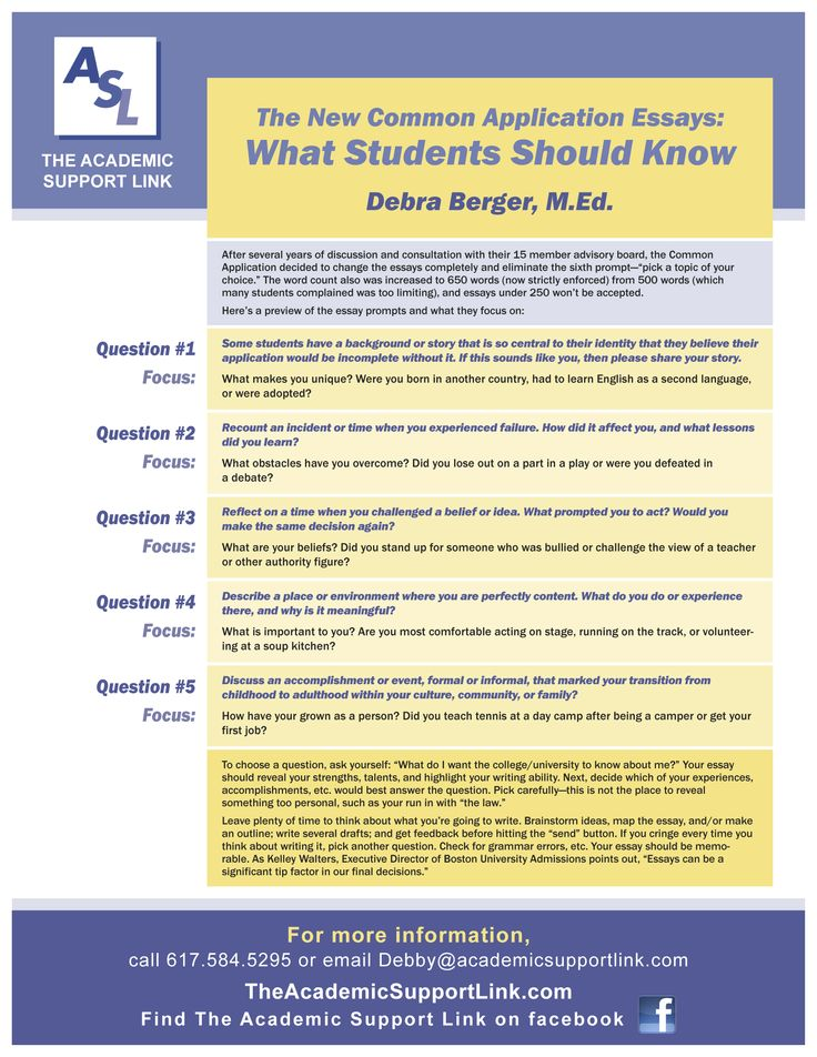 common application essay prompts 2014-15