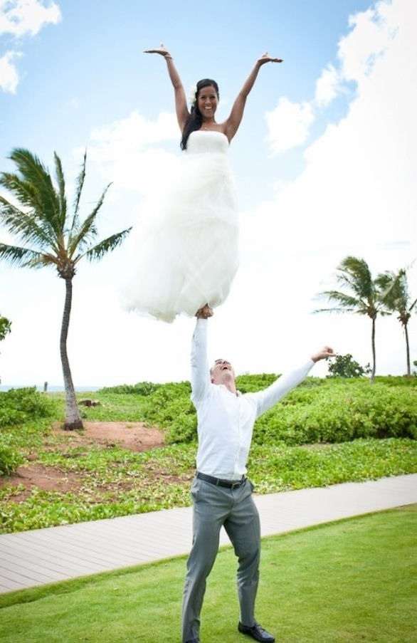 oh my gosh, this is amazing. Super cute for a cheer couple!