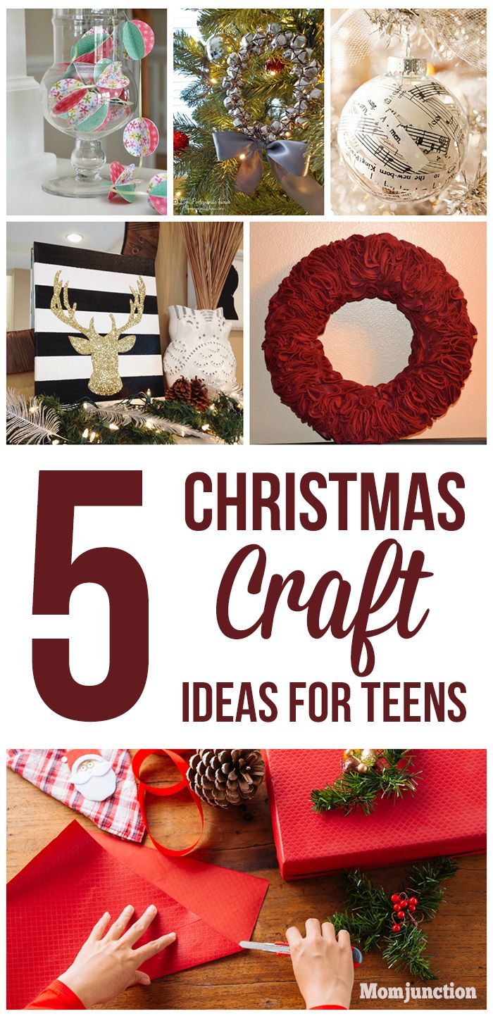 Christmas crafts for teens, one of the great ways to keep your teenagers occupied this #Christmas vacation. They help to get into festive spirit & reflect its importance