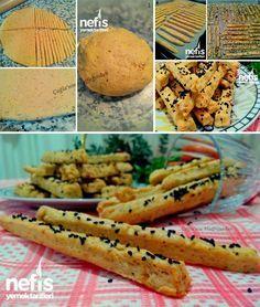 Baharatlı Çubuk Kraker Yapımı