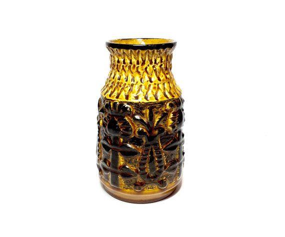 Vintage vase Flower vase Bay Keramik 959 WGP West German