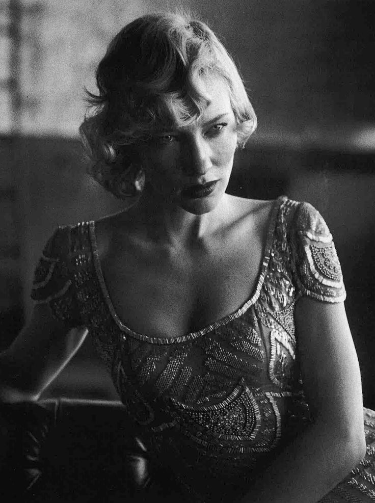 Kate Blanchett by Peter Lindbergh