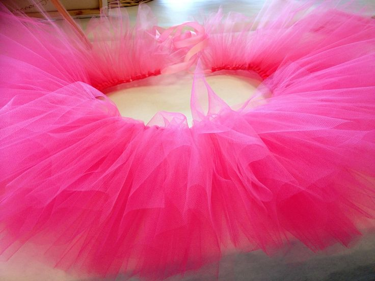 Pink Fluffy TuTu custom Created