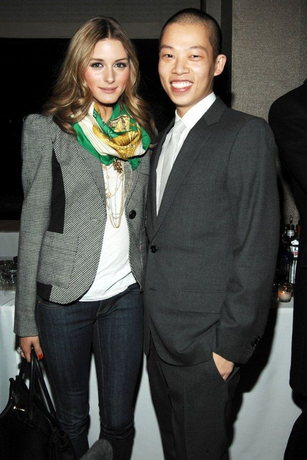 Olivia Palermo and Jason Wu