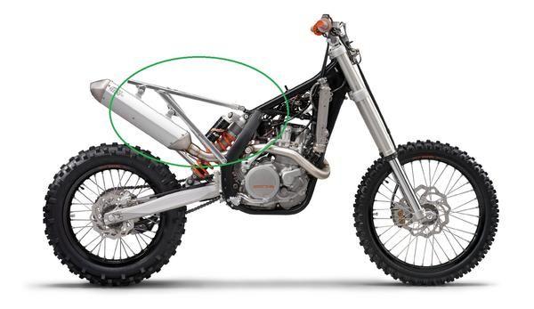 KTM EXC Subframe